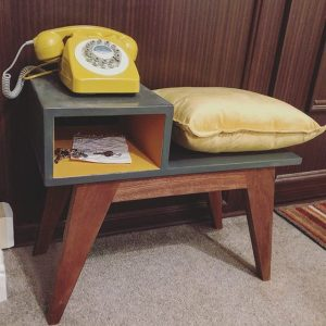 Mid Century Telephone Table