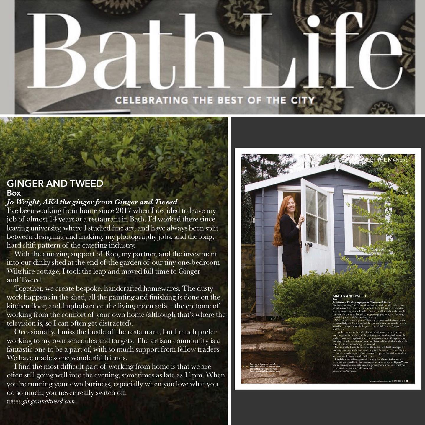 Thinking back to the @bathlifemag feature on working from home that we were included in last year...Fortunately, I'm used to being at home a fair chunk and can easily pass the time with making, pottering, drinking lots of tea and catching up on social media, but it's totally thrown me knowing I can't just pop out to grab a coffee with friends or go on those spontaneous wood shopping missions. We've got plenty of ideas and enough materials to keep is going for a little while fortunately, so it's business as usual production wise at G & T HQ. Obviously, our upcoming markets have been cancelled but many are opening new avenues for us indies to promote and sell our products which is so great! We are planning to take part in quite a few virtual markets over the next few weeks which we will announce soon, as the first one is next Saturday/Sunday. Thank you to everyone for your support, likes, comments and purchases, they mean the world at this uncertain time. Take care! ...#Shopsmall #shopindependent #supportsmallbusinesses #staysafe #staypositive #shoponline