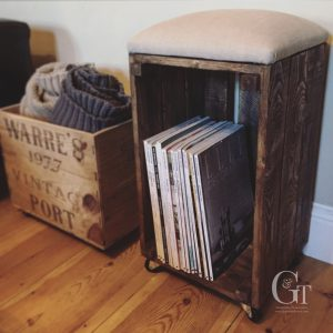 Crate Stool