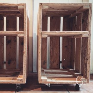 Crate Side Tables