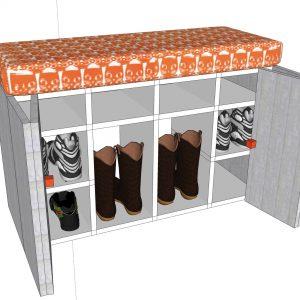Shoe Cupboard Seat