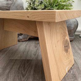 Oak Stool Angle