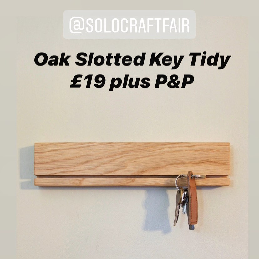 We have made a new batch of our key tidies! Head over to our website for more details. Have a great weekend everyone! ...#handcrafted #homewares #oak #design #scandi #simplicity #beautifulwood #shopsmall #supportsmallbusineses