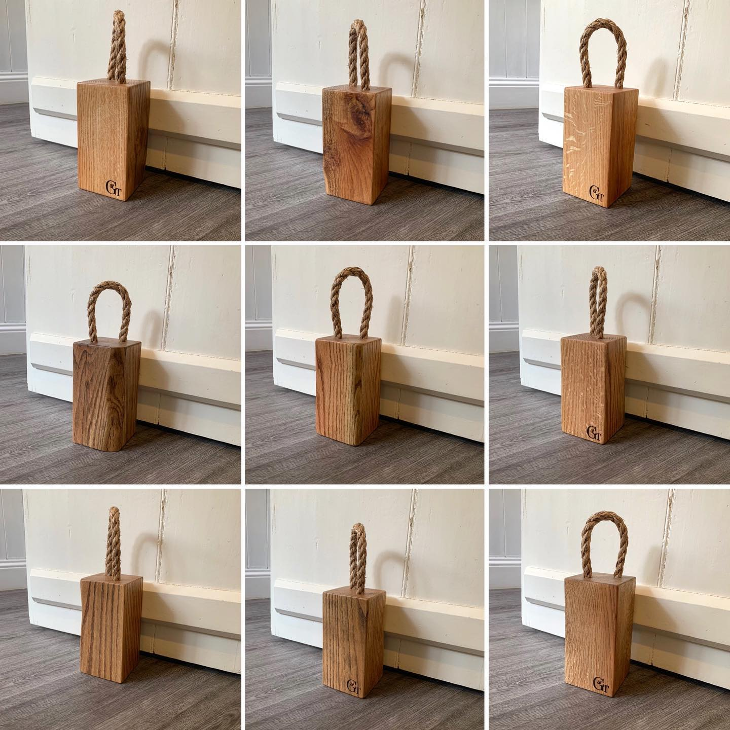 We've just restocked our website with these lovely extra characterful doorstops. £19 plus P&P each one is unique and you can pick from 5 different options.Head over to our website to see more-Link in bio @gingerandtweed ...#stockedup #doorstops #oak #hand tagged #homewares #summertime #opendoor #summerbreeze #naturalmaterials #sustainable #character #madefromwood #workingfromhome #homestudio
