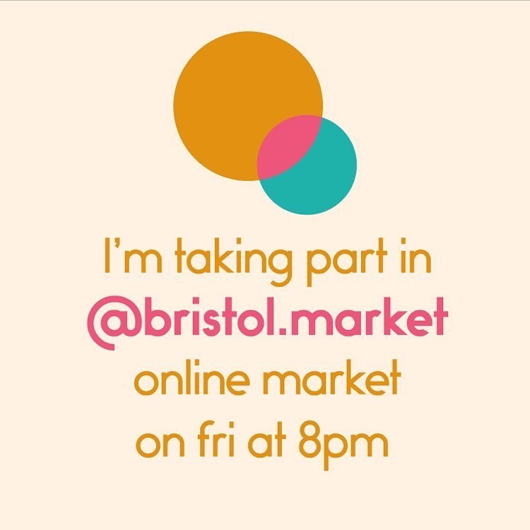 We're looking forward to Friday! @bristol.market will be sharing products through their stories from 8pm and the market will run for 24hrs. Many traders will be running exclusive offers and discounts. ...#bristolmarket #smallbusiness #shophandmade #supportlocal #shopsmall #giftideas #stories #discounts #offers #craft #shoponline #community #gingerandtweed #fridaynightin