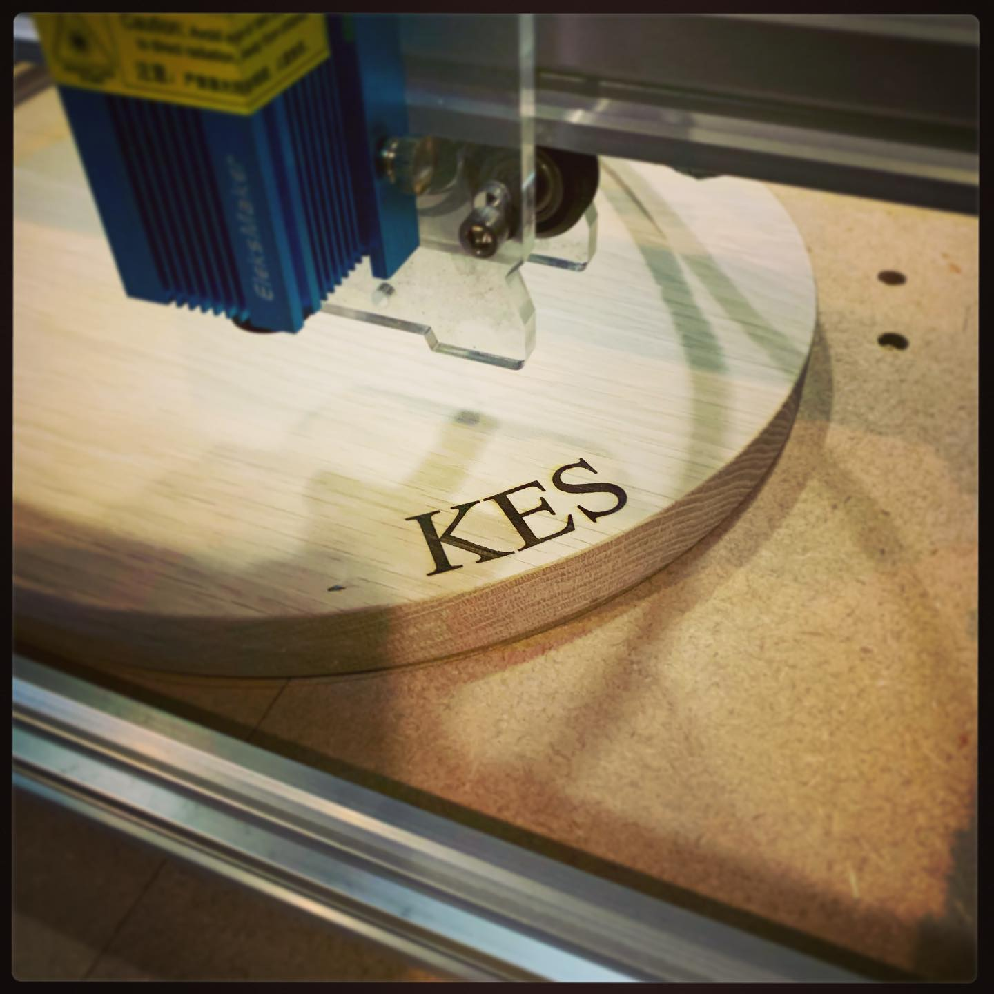 Can you guess what this might be...? We're engraving a personalised commission!...#madetoorder #gbbo #giftideas