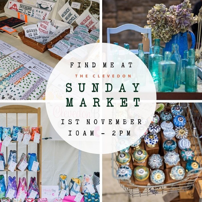 We'll be at the top of Hill Road in Clevedon on Sunday. 10-2if you've not been before, I'd recommend a trip. The market has an amazing buzz and even on a grey day,(which it might be...)who doesn't love seeing the sea!?! ...#clevedon #bristol #england #thewestxountry #marketday #sunday #dayout #shoplocal #supportlocal #saveapost #shopsmall #shophandmade #christmasgifts #gingerandtweed
