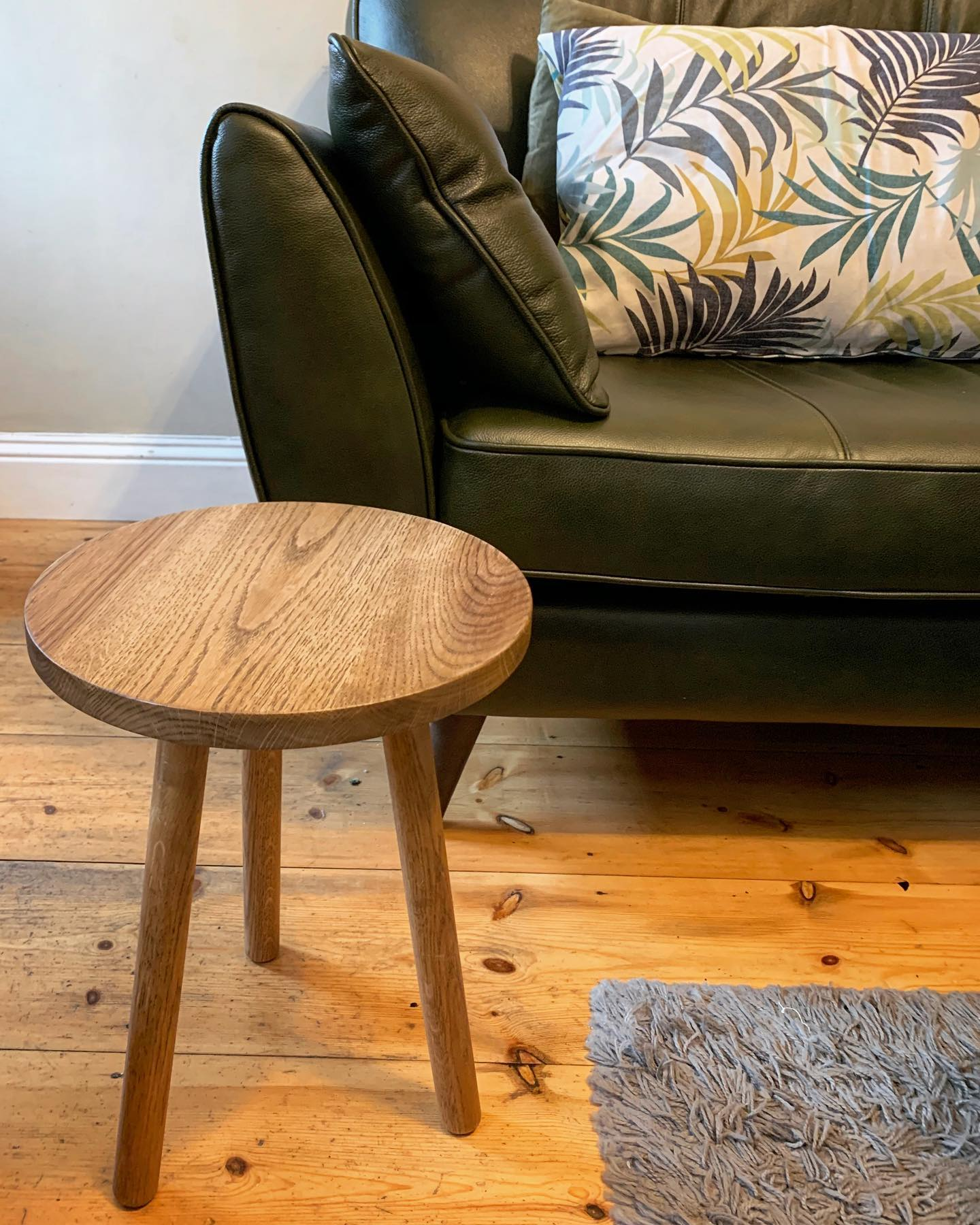 Finishing off another commission today.I think this little oak side table will have to be added to our permanent collection! ️ ...#bespoke #homewares #handcrafted #furnituredesign #rustic #scandi #oak #newproduct #craft #woodworking #simplebutbeautiful #useful #livingroomdecor #sidetable #homedecor