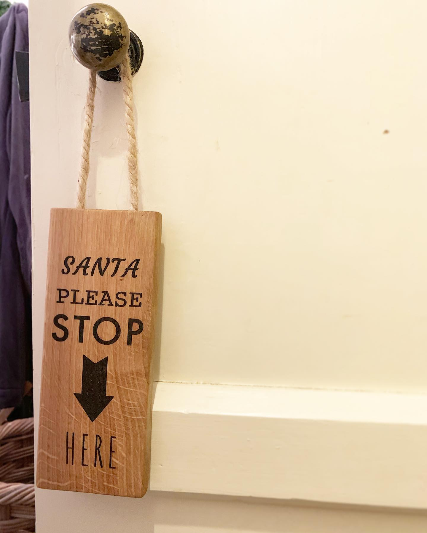 A few Festive products have been on our to-do list for some time now and we're excited to share something we finished today. This oak Christmas sign will be available soon on our website! We'll be announcing when they it goes live along with a few other seasonal products. ...#santastophere #festive #christmas #newproduct #seasonal #handcrafted #homewares #homedecor #falalalala #home #sign #christmasdecs