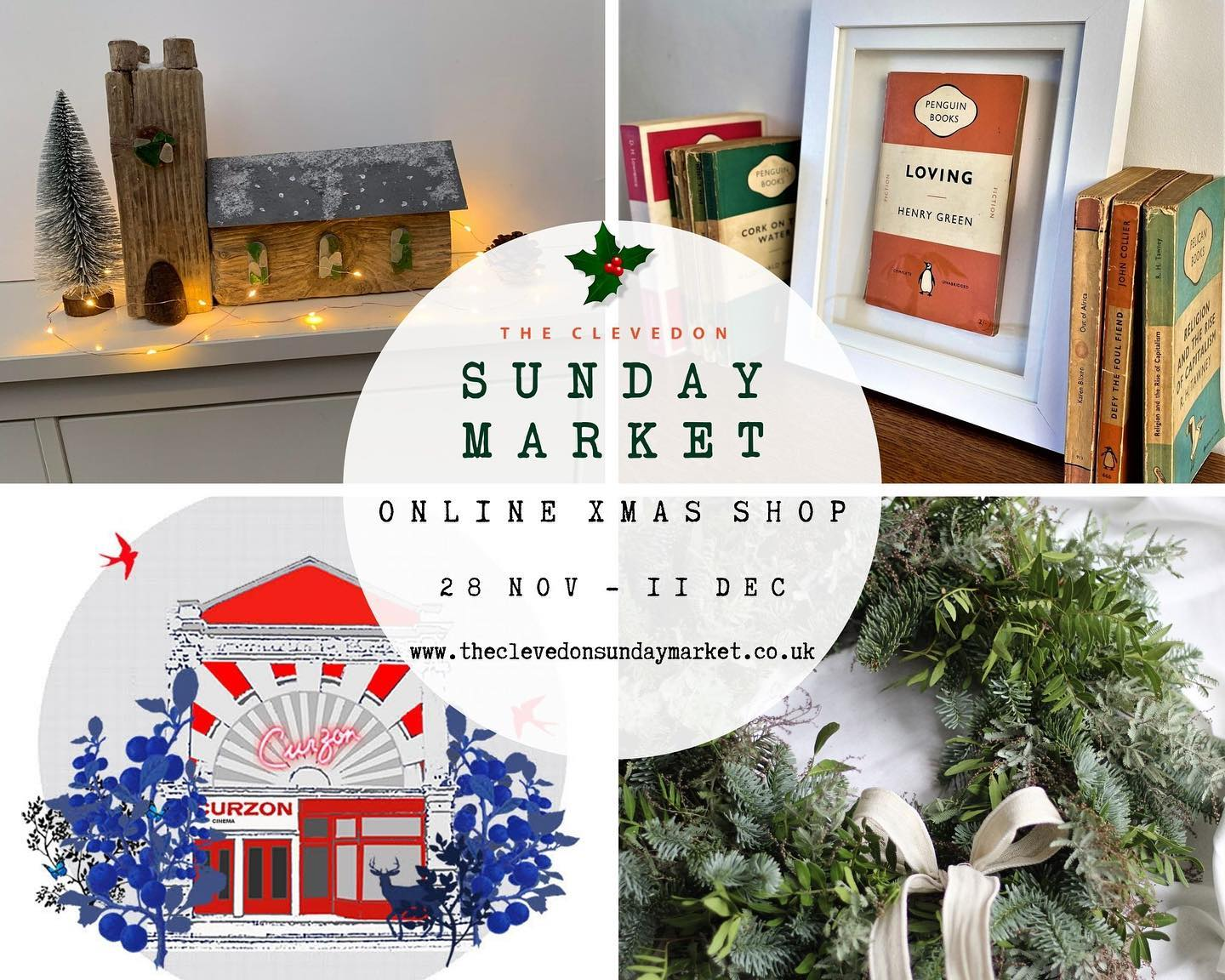 From today you can shop handmade and unique gifts from the @clevedonsundaymarket website. You'll be able to browse lots of lovely items all in one place. 40 talented local makers have been working hard to make items perfect for gifting or treating yourself during the festive period. For two weeks only -www.theclevedonsundaymarket.co.uk
