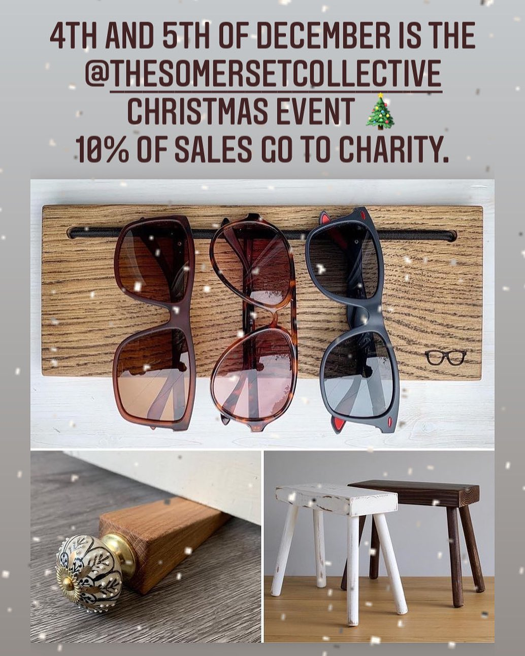 As well as the real life markets we have lined up for this weekend, @thesomersetcollective is running an online Christmas pop up event. Head over to their website to see all the talented makers taking part! The special code TSCPOPUP unlocks offers and all traders will be donating 10% to Dorset and Somerset Air Ambulance. ...#popup #market #somerset #shopsmall #shophandmade #supportsmallbusiness #donate #christmas #craft #festive #shopping