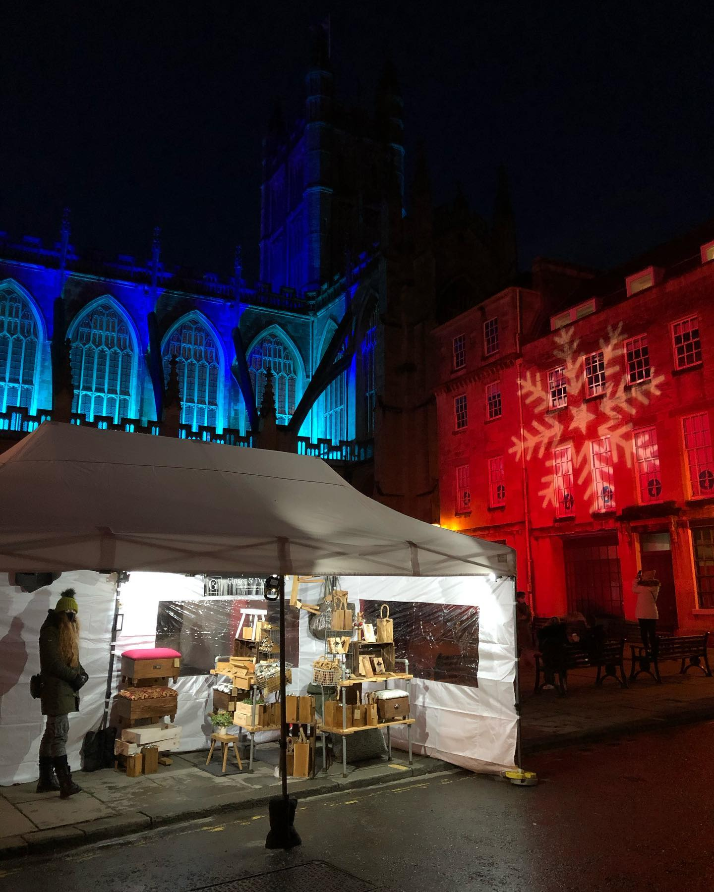 Thank you to everyone who visited our little market today! See you there again next weekend! @abbeyquartermarket ..#christmasmarket #festivemarket #shopsmall #shophandmadeuk #bath #somerset #bathatchristmas #handcrafted #homewares