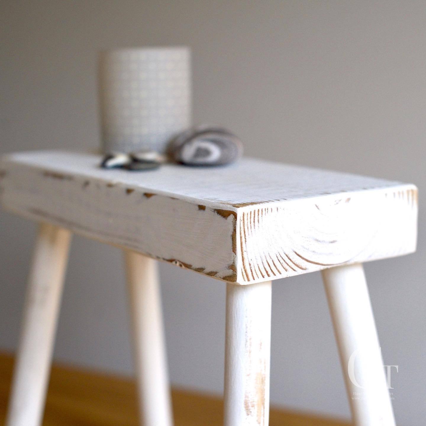 We've just re stocked our white milking stools! ️  @amymurrell ...#stool #scandi #rustic #modern #countrystyle #handcrafted #homedecor #livingroomdecor #woodworking #simpleliving #style