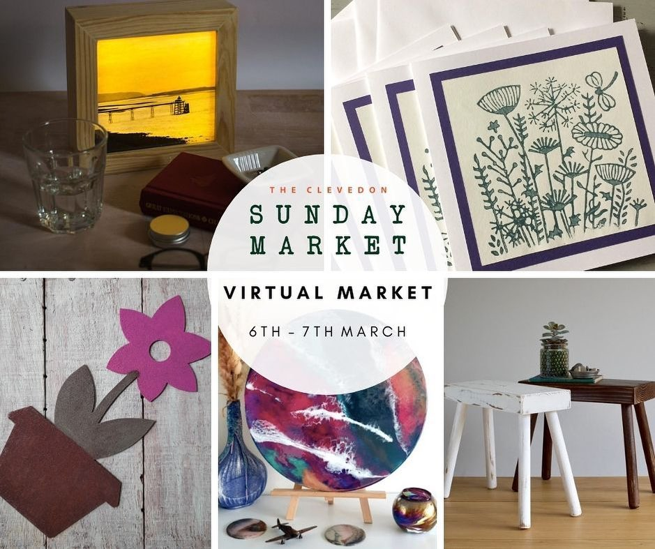 Starting tomorrow morning over on Facebook, traders will be posting in the Virtual Clevedon Sunday Market Facebook Group until 4pm Sunday. The group remains open until Friday the 12th So you can browse and purchase at your leisure ️Follow the link in our Bio to take you to the Market page ...#virtualmarket #clevedon #sundaymarket #shopsmall #shophandmade #facebookgroup #newfollowers #shoponline #commentandshare #visitclevedon