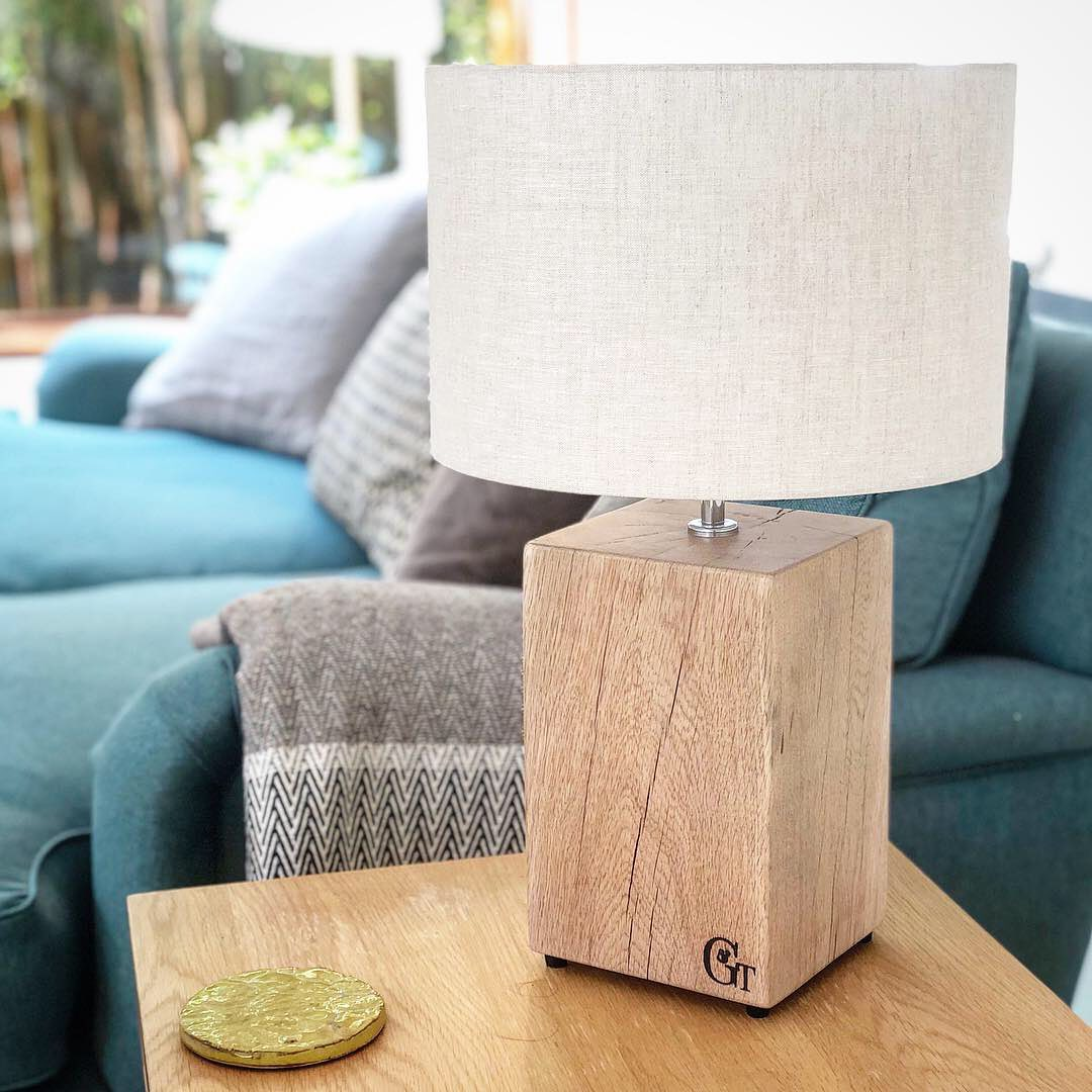These natural finish oak lamps are coming back to our online shop in a few weeks, after a while being out of stock. We will have several choices as each one is unique with its own individual character....#illuminate #moodlighting #lamp #sidetable #oak #homedecor #lifestylephotography #shopsmall #shoponline #independentretailer