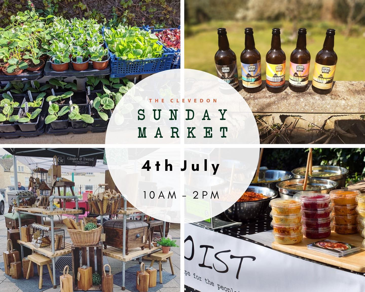 We always love our trips to Clevedon and especially on market day!Join us on July the 4th for the @clevedonsundaymarket it's going to be even bigger and we can't wait! ..#handmade #local #shop #supportlocal #shopsmall #artisan #maker #creative #marketday #bristol #clevedon #community #lifestyle