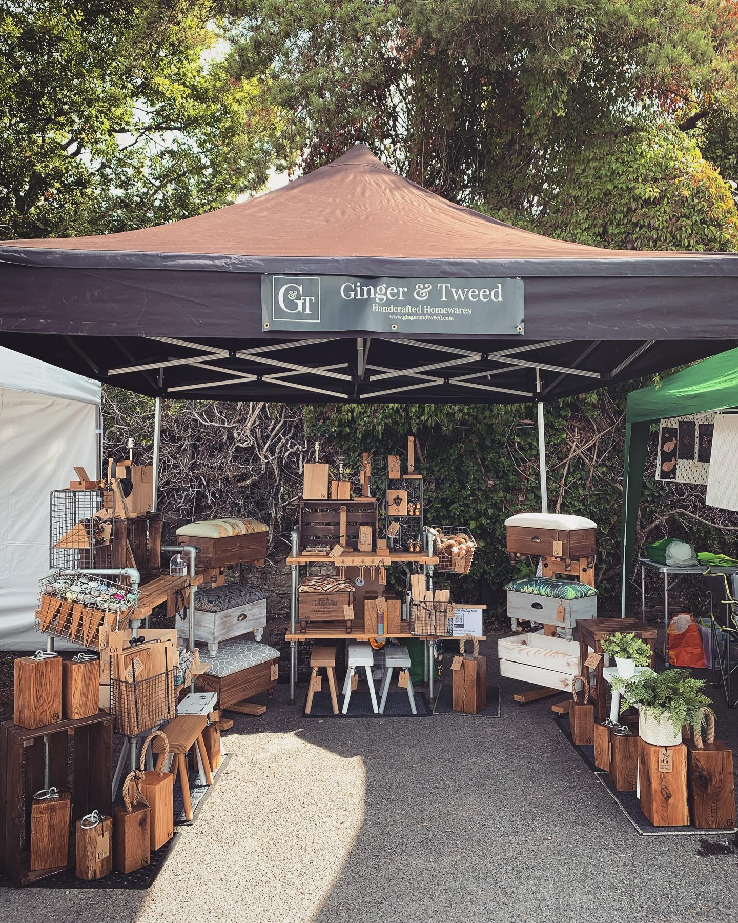 @theatworthartisan is in full swing! Here until 3pm. ...#handcrafted #homedecor #shopsmall #localmarket #villagelife